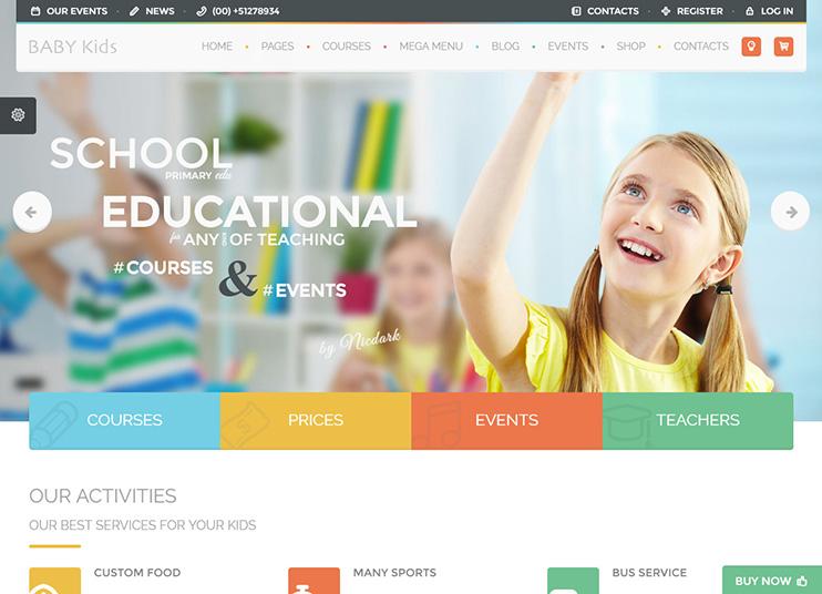 thiết kế website giáo dục chuyên nghiệp uy tín