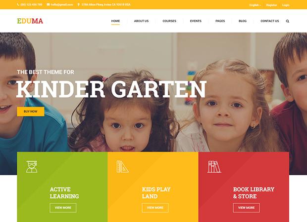 thiết kế trang web trung tâm ngoại ngữ