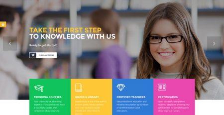 thiết kế website trung tâm tiếng anh chuyên nghiệp
